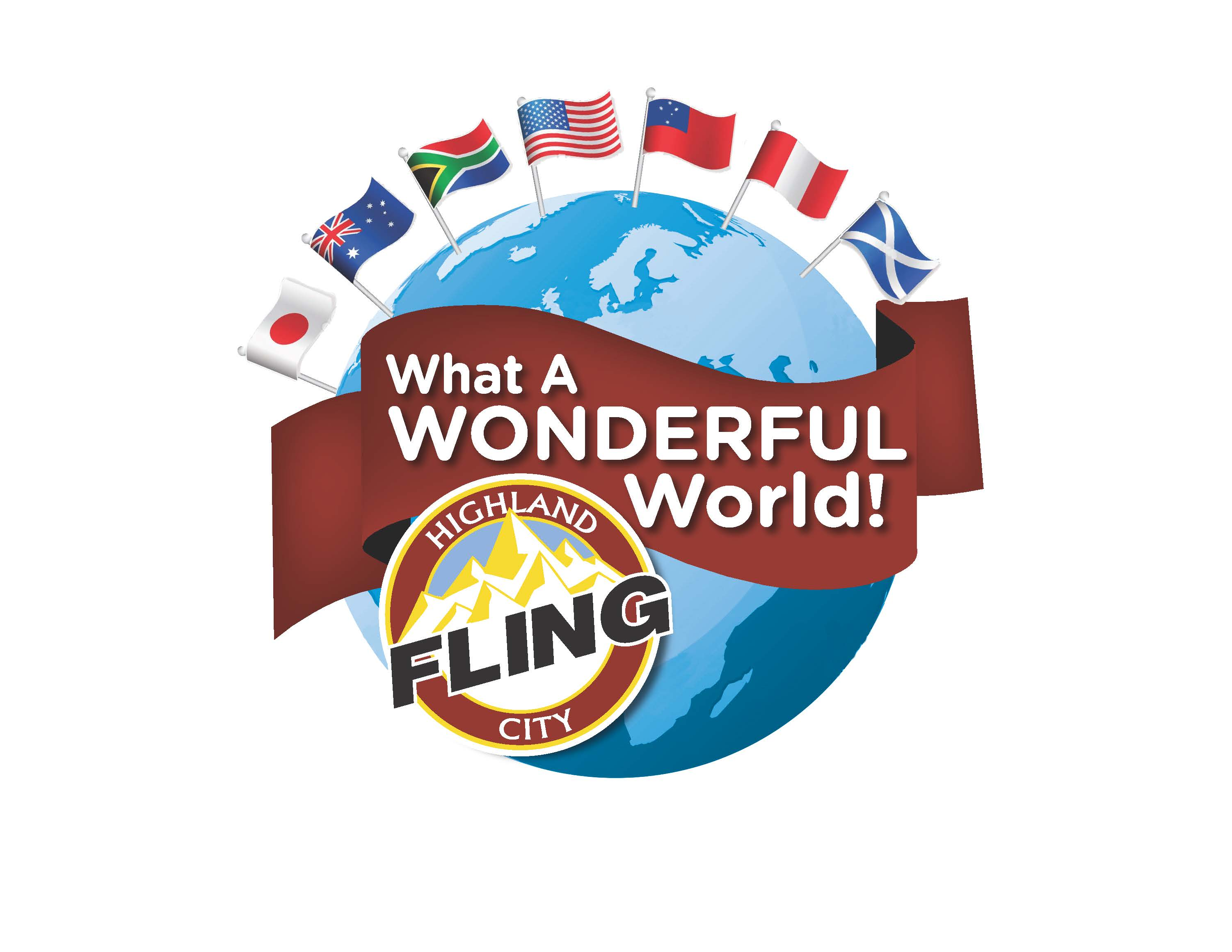 What a Wonderful World Highland City Fling Opens in new window