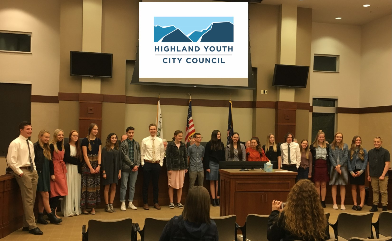 Youth City Council swearing in for website