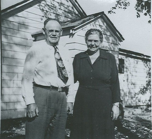 Hyrum and Almira Bolander
