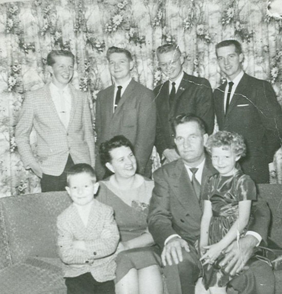 DeMar and Marjorie Carroll family