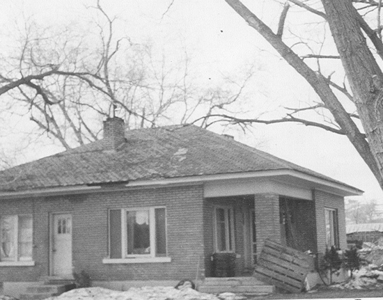 Home of Welcome D and Pearl Chapman - demolished 1990