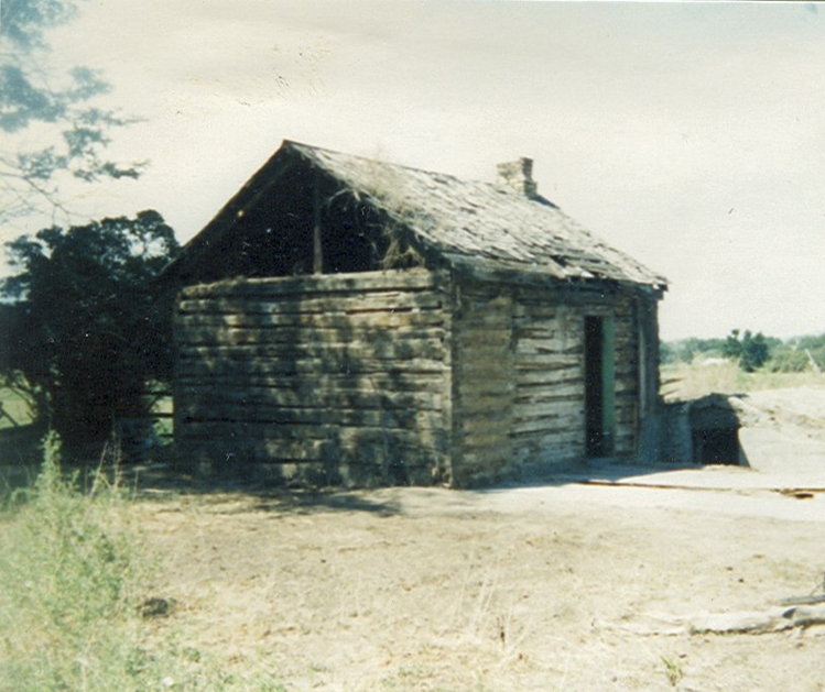 A log cabin built in 1890