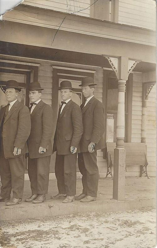 OC Day on right 1911 Kansas Missionary