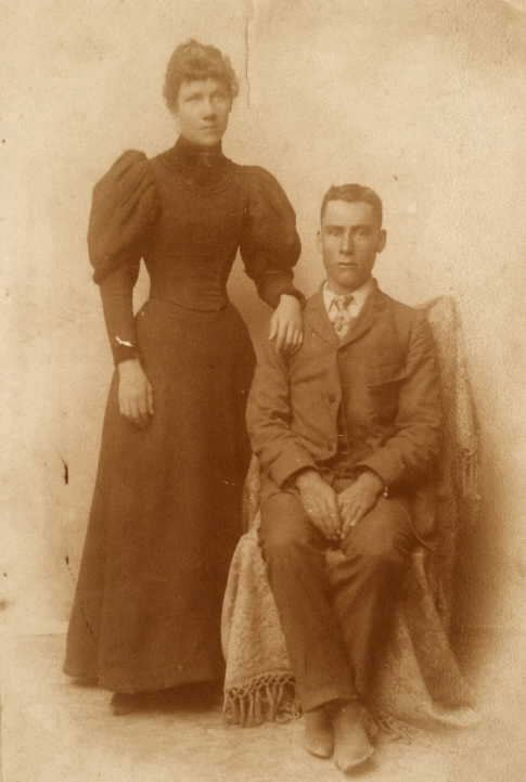 Lem Dreston and Matilda Pehrson Francis