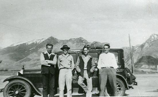 Melvin Day, Elmer Buhler, Richard Greenland, Hubert Greenland