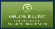 Online Bill Pay - Pay utilities and Account information