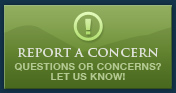 Report a Concern - Question or Concerns - Let us Know